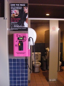 ladies room innovation!